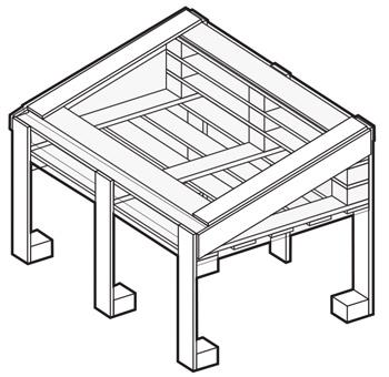 anleitung um ein fr hbeet aus paletten zu bauen. Black Bedroom Furniture Sets. Home Design Ideas