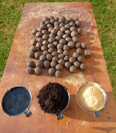 Seedbballs selber machen