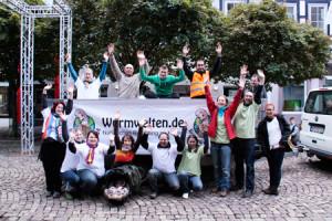 Team Wurmwelten Apfelfest 2012