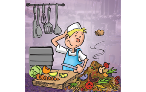 Küchenabfälle kompostieren