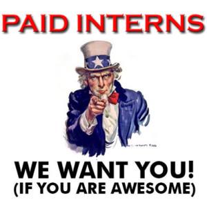 Intern wanted