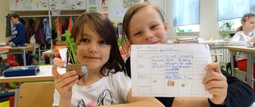 Schulgarten Aktion 2016