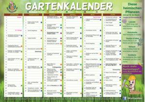Wurmwelten Gartenkalender