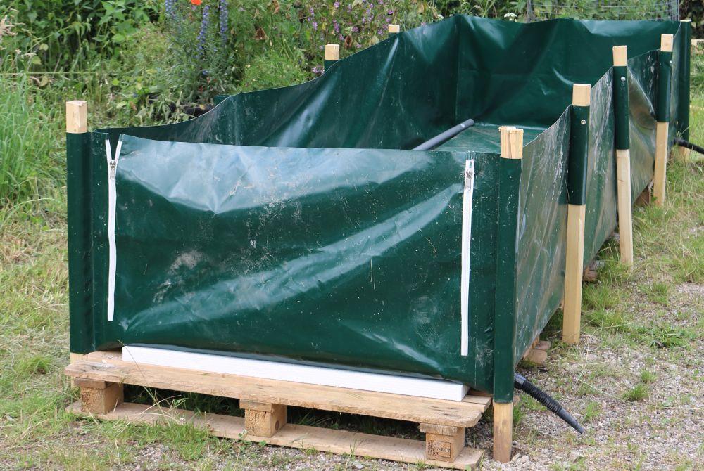 MiKoWa: das Pferdemist-Kompostiersystem