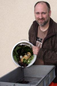kompost-ausleeren