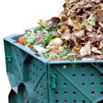 Küchenabfälle durch das Kompostieren wiederverwenden