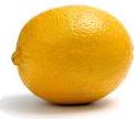 Orange auf dem Komposthaufen